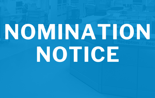 Nomination Notice image